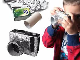 怎么做儿童玩具相机 简单相机玩具手工制作