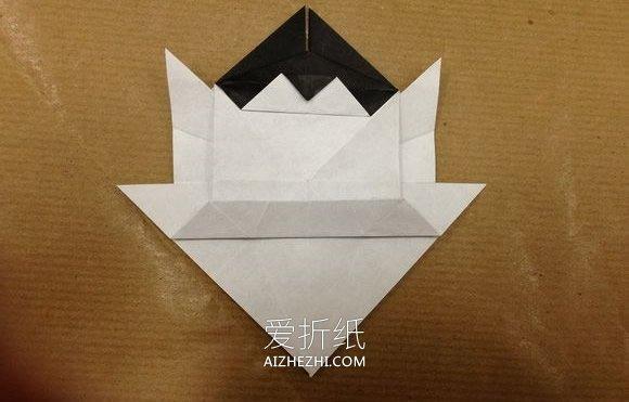 折乌龟的步骤_怎么折纸立体猫咪图解 复杂小猫的折法步骤(3)_爱折纸网