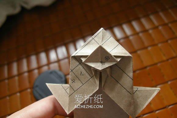 折乌龟的步骤_怎么折纸马伯纳犀牛图解 大师级犀牛折法步骤(3)_爱折纸网