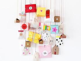 怎么做节日墙壁装饰的图片 简单方便又好看!