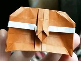 怎么折纸可爱宝箱图解 简单藏宝箱的折法步骤