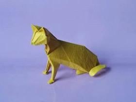 怎么折纸逼真的猫图解 复杂立体猫的折法步骤