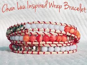 怎么编织单排串珠手链 手工民族风串珠手链DIY