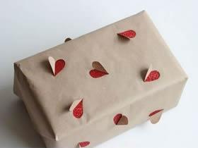 怎么简单做创意包装 立体爱心包装手工制作