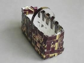 怎么做纸篮子的方法 用纸条编织篮子手工制作