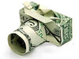 怎么用美元折纸相机 超详细纸币相机折法图解