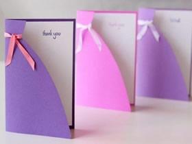 怎么做漂亮感恩节贺卡 卡纸手工制作感恩贺卡