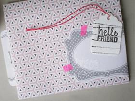 怎么折纸好看的信封 简单折叠长方形信封图解