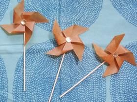 怎么做装饰风车的方法 不会转的风车手工制作