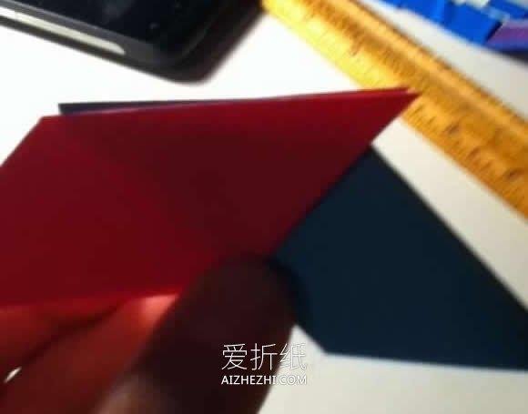 怎么折纸八角形飞镖 手工忍者飞镖的折法图解- www.aizhezhi.com