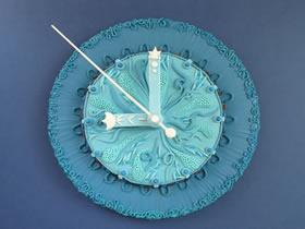 软陶壁钟作品欣赏 美轮美奂的手工艺术品