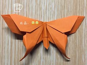 怎么折纸漂亮蝴蝶图解 手工蝴蝶的折法步骤