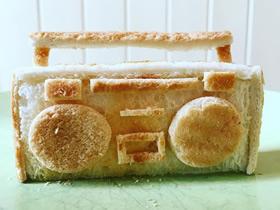 手工面包雕刻作品图片 吃之前还能玩!