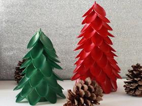 怎么用塑料勺做圣诞树 一次性勺子制作圣诞树