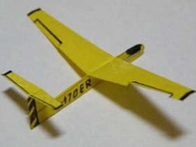 怎么做滑翔机的方法 便签纸手工制作滑翔机