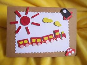 简单可爱的手工贺卡图片 找寻做贺卡的灵感吧