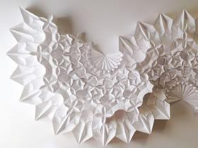 手工几何立体纸雕作品欣赏 绝美的纸之艺术