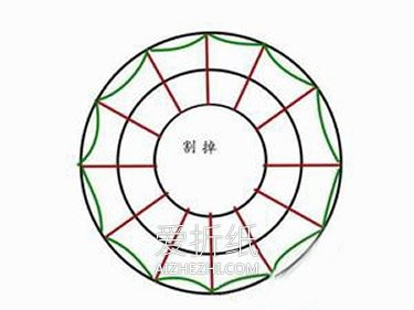 怎么做纸圣诞花环方法 卡纸手工制作圣诞花环- www.aizhezhi.com