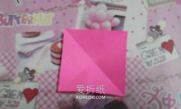 怎么简单折纸立体樱花 五张纸折樱花的方法图解- www.aizhezhi.com