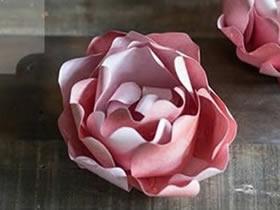 怎么做纸牡丹花图解 手工立体牡丹花制作教程