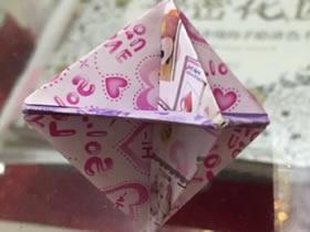 怎么折纸陀螺的方法 简单手工陀螺的折法图解