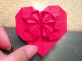 怎么折纸心花怒放图解 手工心花怒放的折法