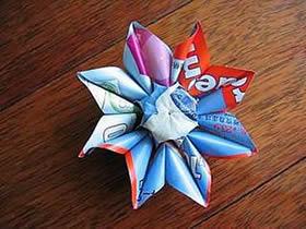 怎么折纸太阳花图解 手工向日葵的折法步骤