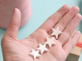 怎么做粘土五角星图解 超轻粘土DIY五角星装饰