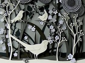 精美的手工纸雕作品欣赏 赞叹于作者的想象力