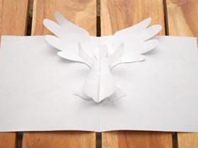 怎么做天使贺卡的方法 立体天使贺卡手工制作