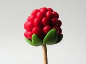 怎么做粘土山莓的方法 超轻粘土制作山莓水果