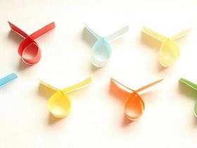 怎么折最简单的降落伞 手工纸降落伞玩具制作