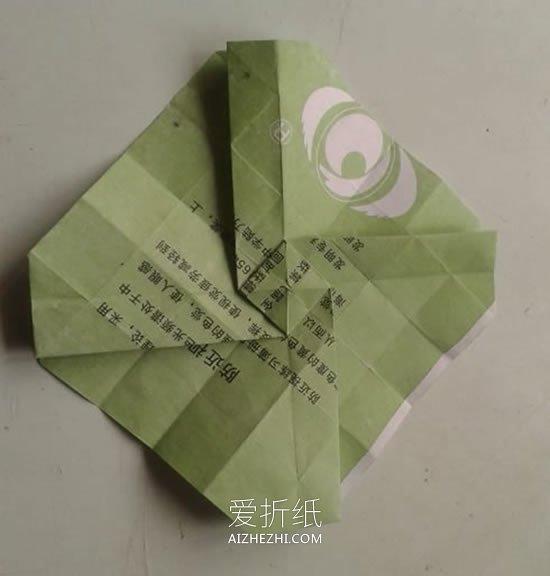 怎么折川崎玫瑰图解 川崎玫瑰花的详细折法- www.aizhezhi.com
