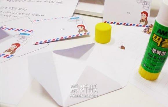 幼儿园最简单手工花朵_怎么做最简单的信封 手工经典信封的折法图解_爱折纸网