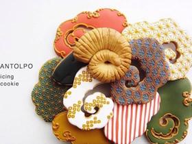 手工精致糖霜饼干图片 不仅美味看着还像艺术品