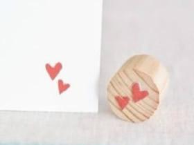 怎么做爱心印章的方法 儿童手工制作简易印章