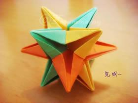 怎么折纸圣诞星 一张纸和六张纸折立体圣诞星