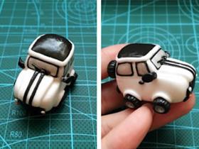 怎么做粘土越野车图解 超轻粘土制作汽车模型
