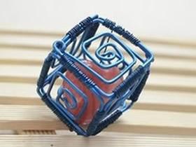 怎么做创意情人节礼物 金属丝手工制作小饰品
