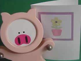 怎么简单做母亲节贺卡 卡纸制作可爱盆栽卡片