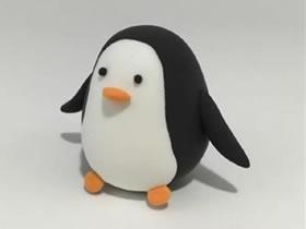 怎么做粘土企鹅的方法 超轻粘土制作卡通企鹅