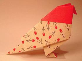 怎么简单折纸鸽子图解 儿童手工鸽子的折法步骤