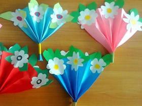 怎么简单做手捧花方法 手工制作母亲节礼物花束