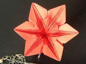 怎么折纸君子兰的方法 手工君子兰折法步骤图