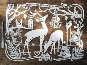 手工制作精美的平面纸雕艺术品图片欣赏
