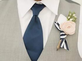 怎么做毡布胸花的方法 手工布艺好看胸花制作