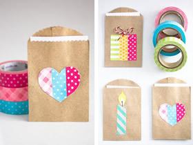 怎么做创意信封的方法 牛皮纸袋制作好看信封