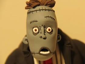 怎么做粘土科学怪人 超轻粘土制作恐怖怪物