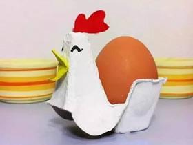 鸡蛋托怎么废物利用 儿童手工鸡蛋托小制作