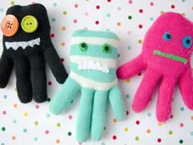怎么做章鱼娃娃的方法 手套制作章鱼玩偶图解